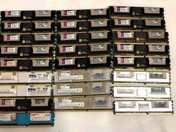 Оперативна память 4gb DDR2 PC2 5300F Full Buffered серверная Registere
