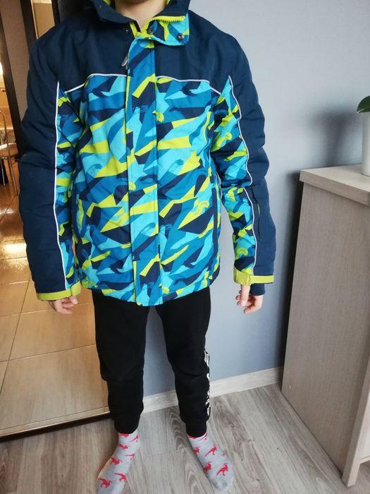 Kurtka zimowa narciarska chłopięca rozmiar 158 Łaziska Górne - image 1