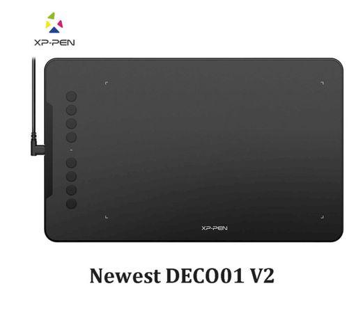 XP-Pen Deco 01 V2 10 дюймовый графический планшет