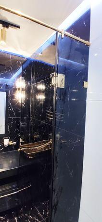 Душевая кабина из закалённого стекла в ванную перегородки перила двери