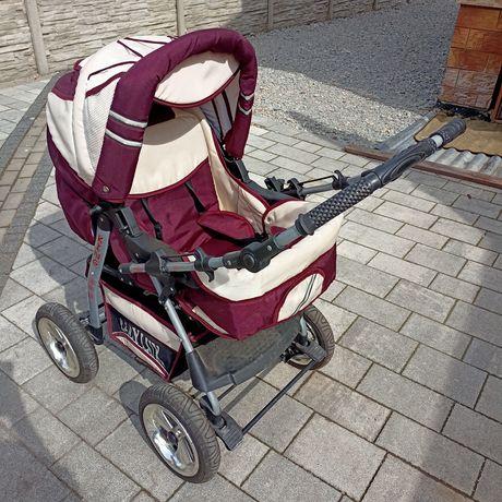 Baby lux wózek dzieciecy+nosidełko