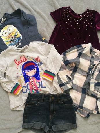 Пакет одежды для девочки 3-4 года