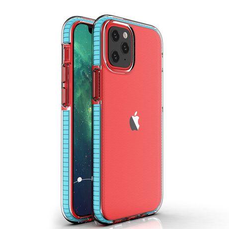 Capa Silicone Lmobile Spring Iphone 12 Mini - Azul