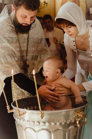 Фотограф Таинства Крещения и Венчания . Донецк- Макеевка
