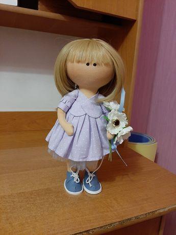 Лялька інтер'єрна текстильна