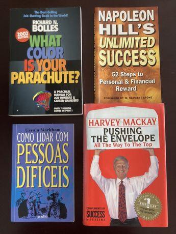Clássicos de Gestão Carreira, Vendas e Auto-ajuda (4 Livros)