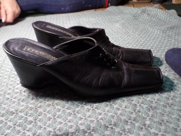 Туфли женские без пятки кожа р.41