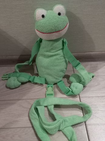 Вожжи рюкзак для ребёнка жабка