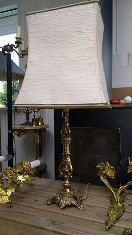 Лампа старинная торшер