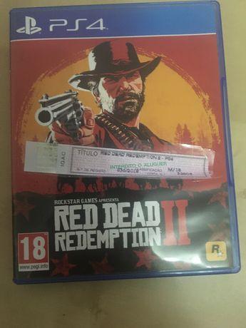 Vendo jogo read dead deampion 2 novo ps4 com Selo IGAC