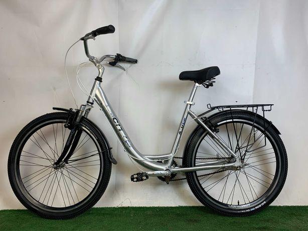 Велосипед Женский горный Алюминиевый Планетарка из Германии Alu bike