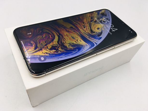 iPhone XS MAX 256GB SILVER • PROMOCJA • GW 1 MSC • AppleCentrum