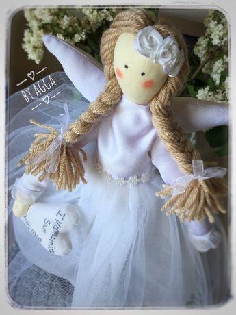 Tilda anioł rękodzieło handmade