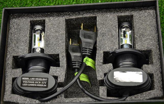 Автомобильные Лэд LED аш H1 H4 Лед Лампы s1 H7 Cветодиодные 30000часов