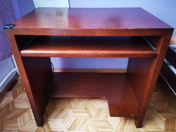 Biurko, biurko komputerowe, solidne drewniane biurko