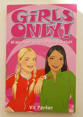 "Книга на английском, Vic Parker: ""Girls only!"""