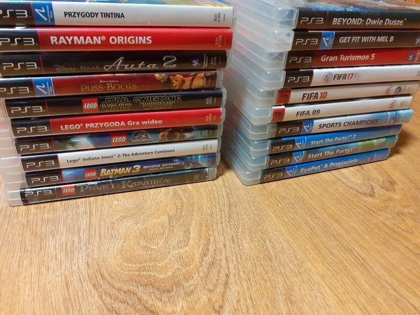 Gry ps3 dla dzieci lego, Rayman, fifa inne