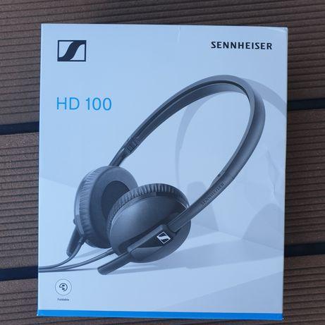 Słuchawki Sennheiser HD100 nowe