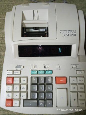 Калькулятор печатающий Citizen ( в ассортименте )