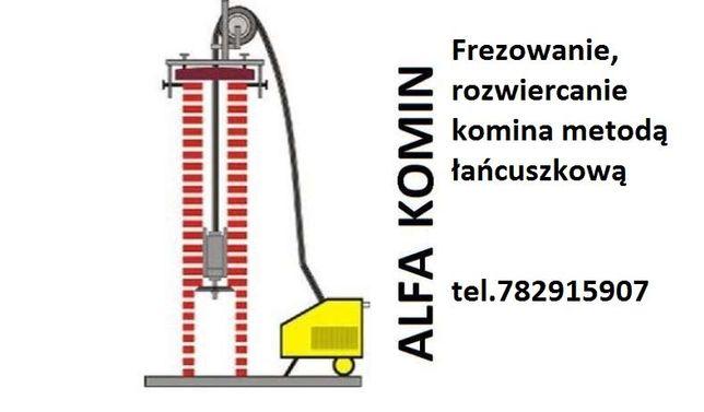 Frezowanie, czyszczenie kominów. Wkłady kominowe. Wkład kominowy