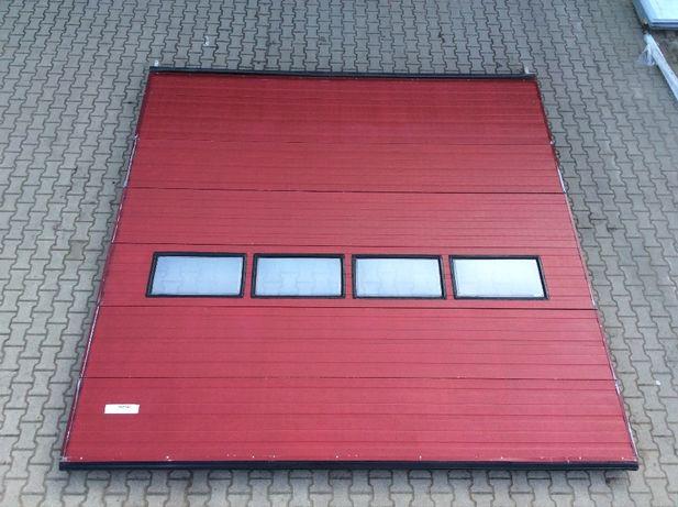 Brama panelowa segmentowa garażowa przemysłowa 400 x 395