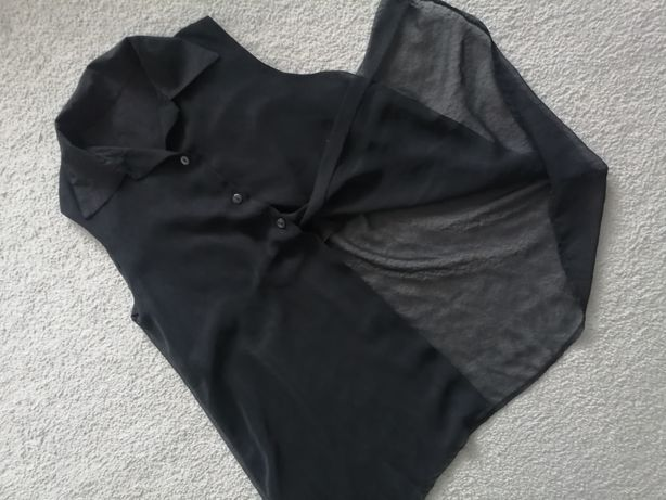Koszula czarna mgiełka l xl
