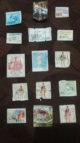 selos nacionais antigos