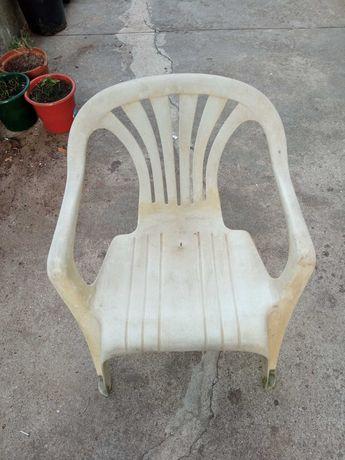Cadeiras de plástico para exterior, esplanada ou jardim