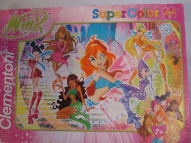 Puzzle 250 peças Winx