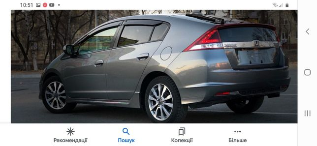 Хонда инсайт 2010, Honda Insight гібрид  росхід 4,8л.Європа