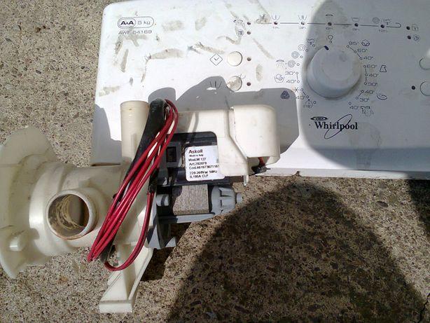Pompa odpływowa pralka Whirpool.