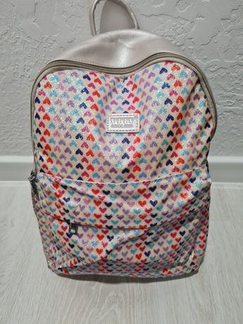 Школьный рюкзак, рюкзак розовый  рюкзак для девочки