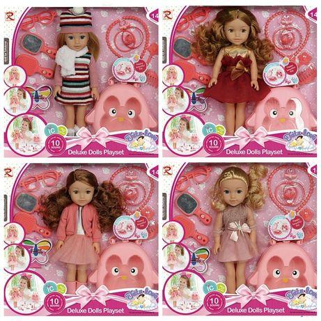 Кукла музыкальная с аксессуарами 8392 поет, говорит фразы куколка
