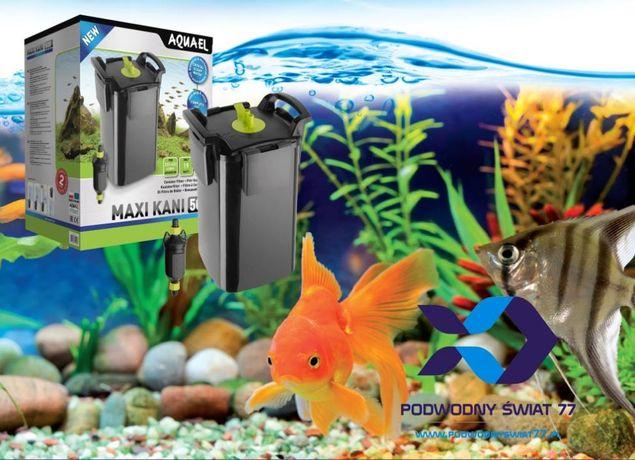 Aquael Maxi Kani 150, 250, 350, 500 filtr zewnętrzny nowy - akwarium