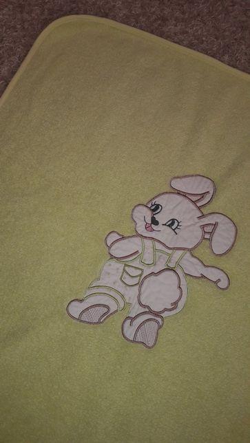Плед одеяло для новорожденного