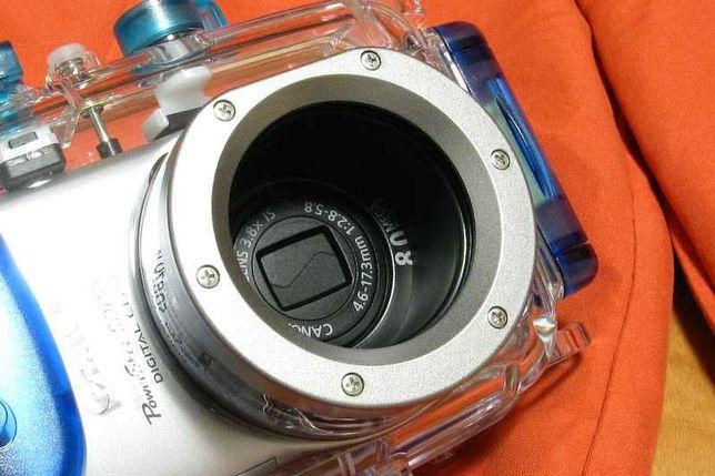 Canon - Conjunto Fotografia Aquatica Submersivel ate 40 metros