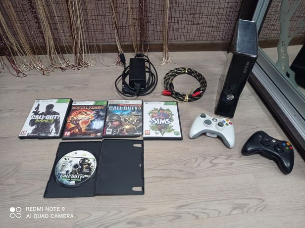 Xbox 360 250GB в хорошем состоянии.