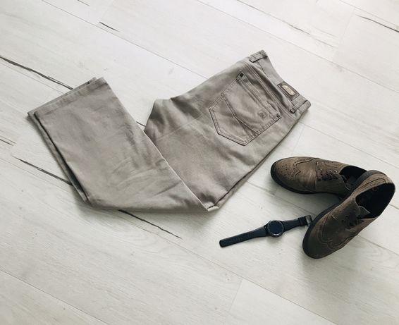 Брюки/штаны/джинсы серого/кофейного цвета 34/38