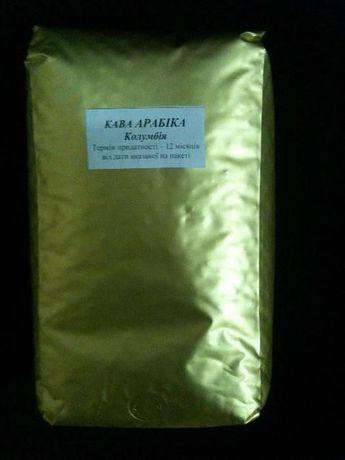 Арабика Колумбия робуста Вьетнам купаж кофе в зернах кава 60 на 40
