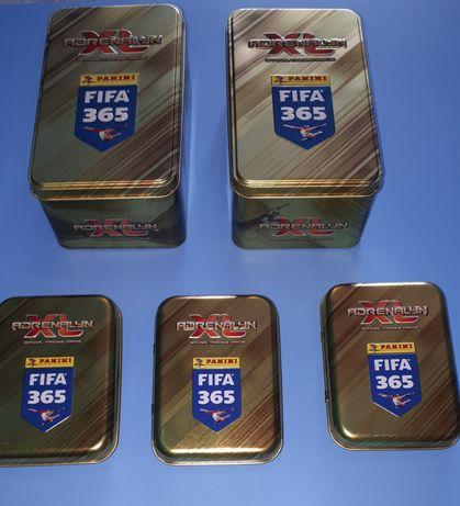 FIFA 365 złota puszka kolekcjonerska duża i mała