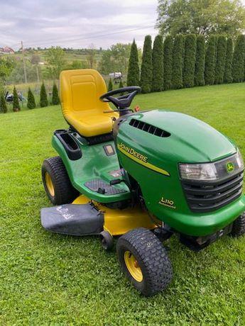 Kosiarka traktorek John Deere L110 Silnik 17.5