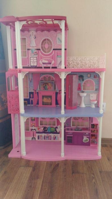 Barbie duży domek dla lalek z windą+gratis Mielno - image 1