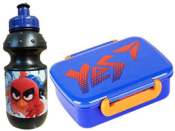 Набор Angry Birds – Злые птицы. Ланчбокс и бутылка, школьный, акция