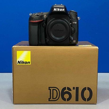 Nikon D610 (Corpo) - 24.3MP