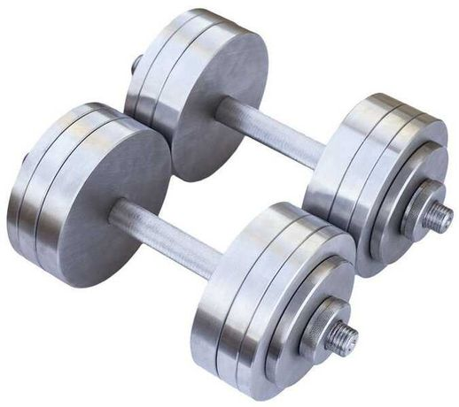 Гантели наборные 2шт по 20кг металл сталь есть покраска любой вес