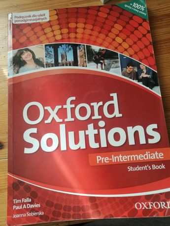 Oxford Soulutions student book