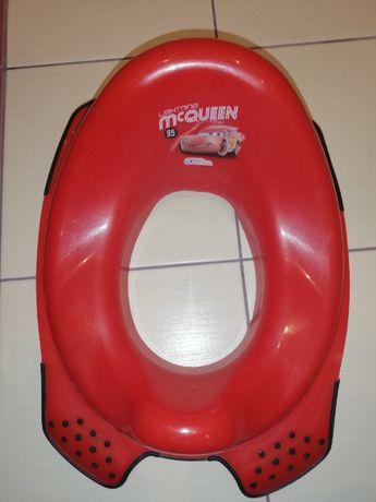 podkładka na toaletę dla chłopca z McQeen