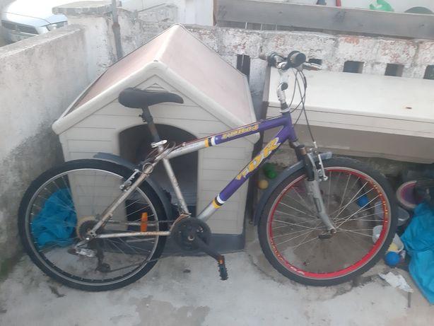 Bicicleta com volante flexivel roda 26