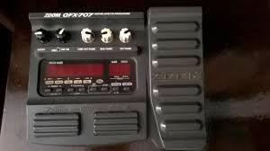 Pedal de efeitos Zoom gfx 707