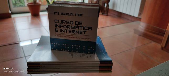 Curso informática CJ livros e dvds